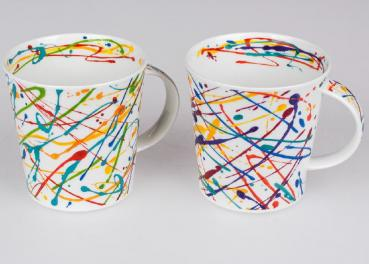 Becher Cairngorm Squiggle Bone China
