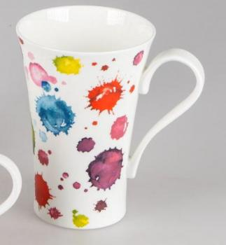 Becher Lucy Splash Bone China