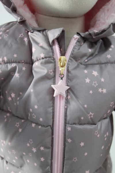 Anorak mit Kapuze allover - multicolorred
